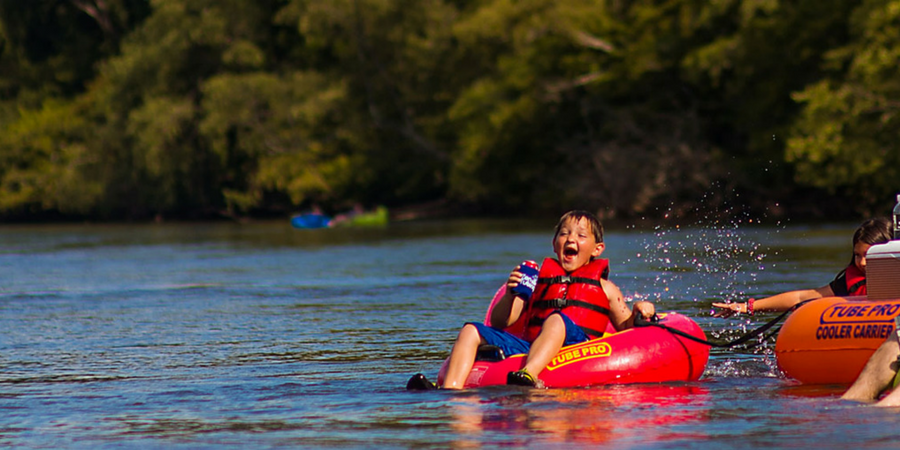 10 ways to cool off in Greenville, South Carolina in the summer - tubing