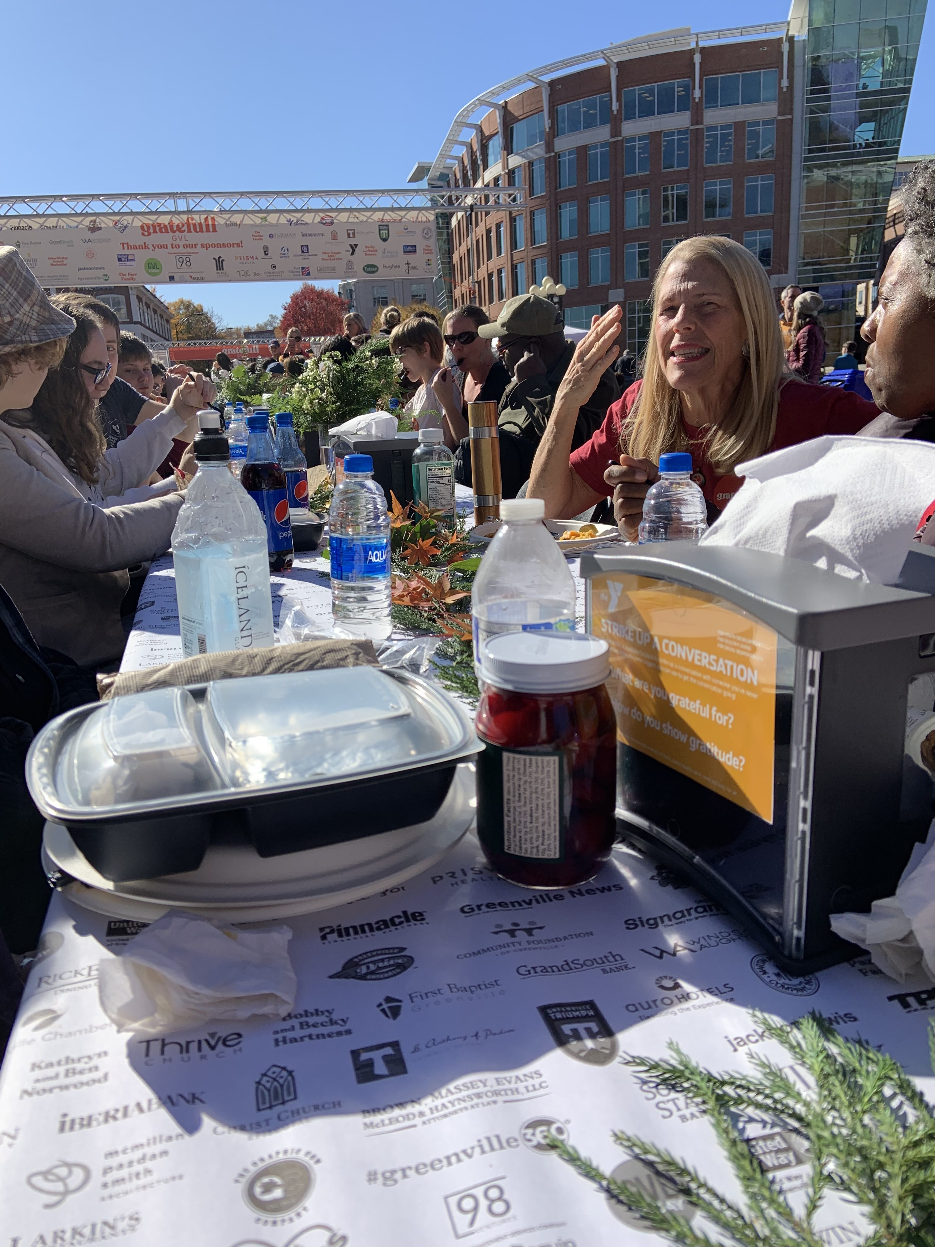 Gratefull GVL: A Potluck Dinner With The Entire City