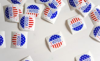 I Voted Stickers Given Out At Primaries And Caucuses